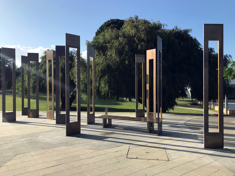 John Curtin Memorial by Walter Jack