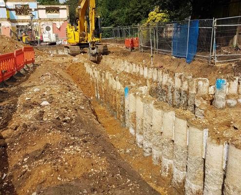 basement link piles